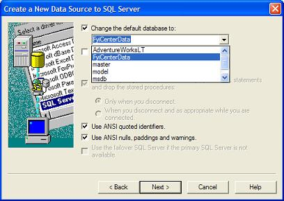Microsoft Access Driver ODBC connection to <database> failed